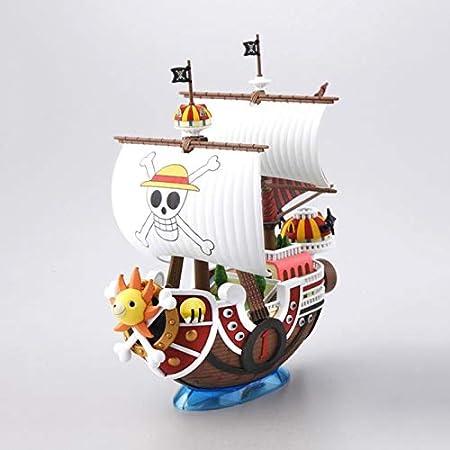 Jerpoz Diy Assemble Version Petit Bateau De Pirate Voile Modele Anime Statue Anime Sculpture Pour Passe Temps Decoration De Bureau Collection Decoration Amazon Fr Cuisine Maison