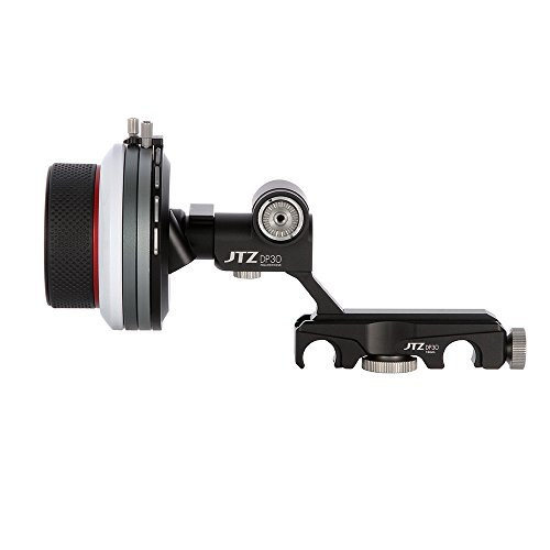 JTZ DP30 Cine Follow Focus 15mm/19mm KIT for FS700 C300 C500 BMCC A7M2 ARRI lens by JTZ