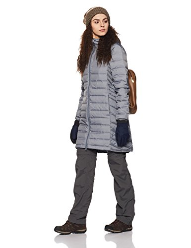 Columbia Women's Lake 22 Long Hooded Jacket Grey Ash