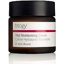 Trilogy Vital Moisturizing Cream for Unisex, 2 Ounce