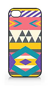 Aztec Pattern - Hard Plastic Case ONLY for iPhone 4/4S - Designed & Sold by The Fun House Shop