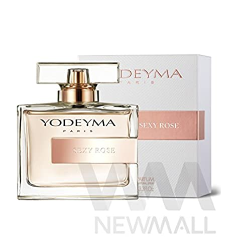 Perfume de Mujer SEXY Yodeyma ROSE Eau de Parfum SPRAY de 100 ml. (