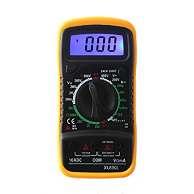 Fullfun XL-830L LCD Digital Multimeter 3 1/2 Voltmeter Ohmmeter Multitester F7