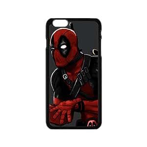 Deadpool Black Phone Case for iPhone6