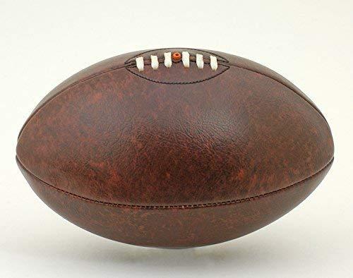 British Sports Museum Aspect Cuir Vintage avec Lacets Ballon de Rugby