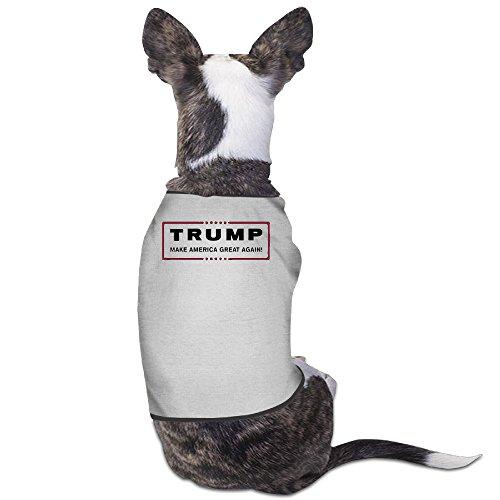 Theming Donald Trump For President Make America Great Again Dog Vest]()
