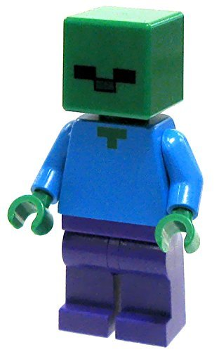 with LEGO Minecraft Minifigures design