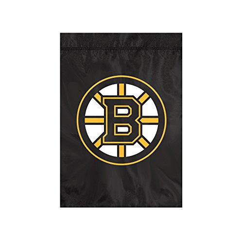 The Party Animal NHL Boston Bruins Unisex NHL Garden Flagnhl Garden Flag, Black, 18