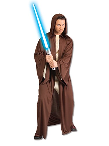 (Rubie's Star Wars Adult Hooded Jedi Robe, Brown, X-Large)