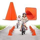 Premium 7-Inch Plastic Traffic Cones