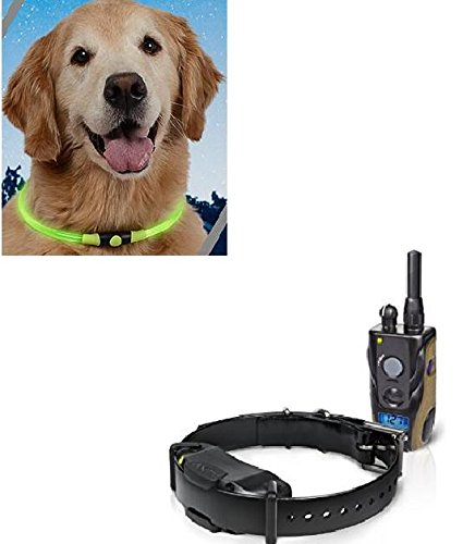 Dogtra 1900S 3/4 Mile Range 1 Dog Training Collar System with Free Nite Ize Glow Necklace