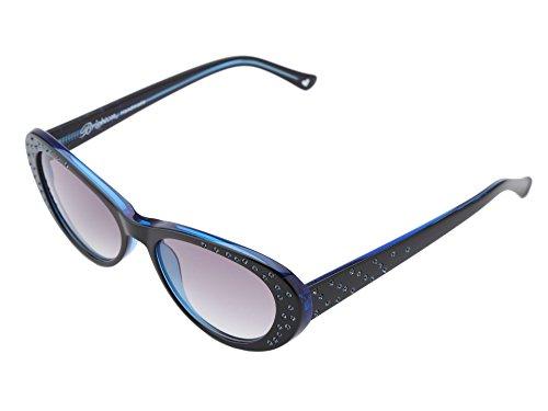 Brighton Lady Blue Swarovski Crystal Sunglasses ()