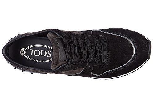Tod S Damesko Ruskind Trænere Sneakers Sportivo Yo Allacciata Sort YJbsYKzB