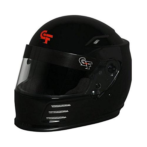 - G-FORCE Racing Gear 3410 Large MATTE Black REVO FULL FACE HELMET Large MATTE Black SA15