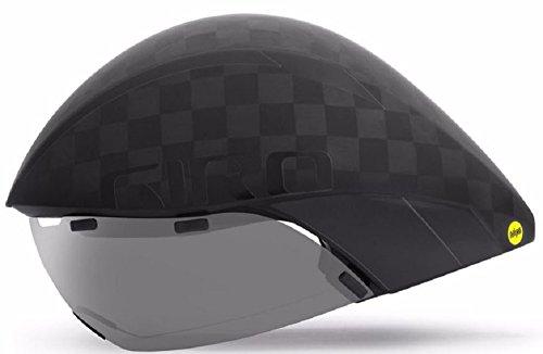Cheap Giro Aerohead Carbon Ultimate MIPS Matte Gloss Black Aero/Tri Road Bike Helmet Size Medium