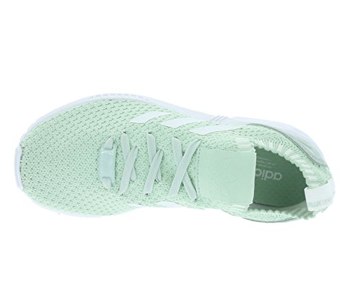 adidas ZX Flux Primeknit W Vapor Green White Vapor Green Grün