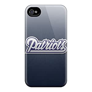 GAwilliam Design High Quality New England Patriots Cover Case With Excellent Style For Iphone 4/4s