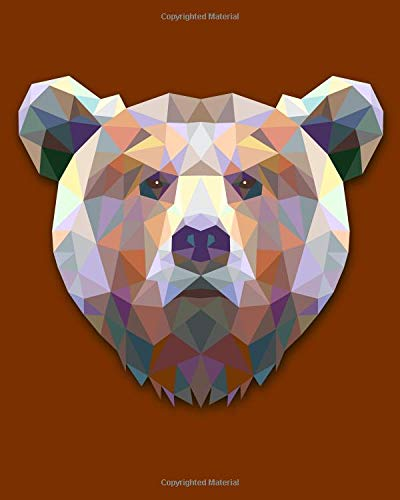 Download Bear Notebook: College Ruled Writer's Notebook for School, the Office, or Home! (8 x 10 inches, 120 pages) pdf