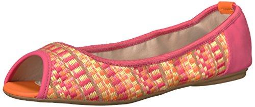 Butterfly Twists Women's Heather Flat Sandal, Pink, 8 M US