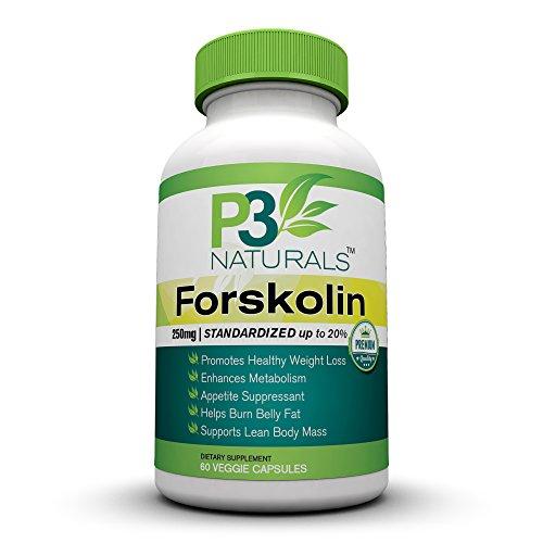 """Forskoline - Dr OZ - Perte de poids Diet Pill carburant et Belly Fat Burner - 250 mg Extrait standardisé 20 - métabolisme Enhancer Booster - Nutrition Santé Complémentaires masse musculaire maigre pour les deux hommes et les femmes - """"! L'utiliser pour ré"""