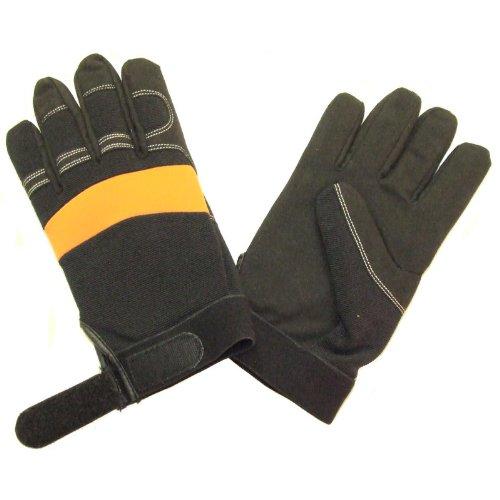 Full Gel Filled Anti Vibration Work Gloves Medium, Size 9...