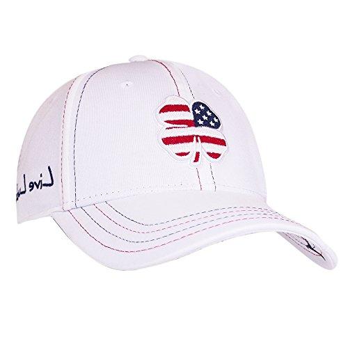 Black Clover USA Luck #2 Hat, Navy/White, Small/Medium ()