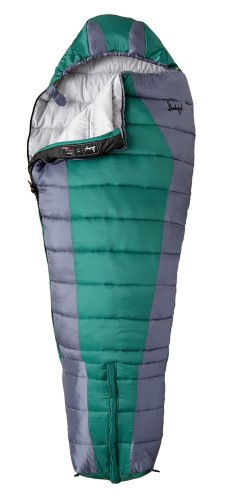Slumberjack Ultimate Synthetic Sleeping Bag, Short, Outdoor Stuffs