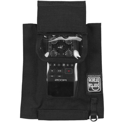 PortaBrace AR-ZH6 Audio Recorder Case, Zoom H6N, Black Bags by PortaBrace