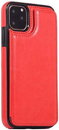 iPhone XR PUレザー ケース, 手帳型 ケース 本革 財布 耐衝撃 ビジネス カバー収納 携帯カバー 手帳型ケース iPhone アイフォン XR レザーケース
