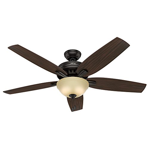 Hunter 54161 56 in. Newsome Premier Bronze Ceiling Fan with