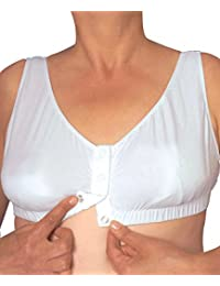 Silverts Disabled Elderly Needs Easy On Snap Front Closure Bra - Front Opening Bra