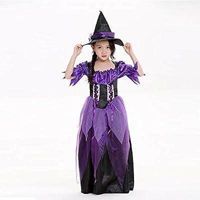 QAR Disfraz De Cosplay De Halloween Cosplay Bruja Vestido De ...