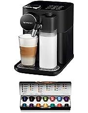 De'Longhi EN650B Nespresso Gran Lattissima Capsulemachine, Koffiezetapparaat met Melkopschuimer, Voor 6 Koffie-Melkdranken Per Vingertop, 36,7 X 20,3 X 27,6 Cm, Zwart