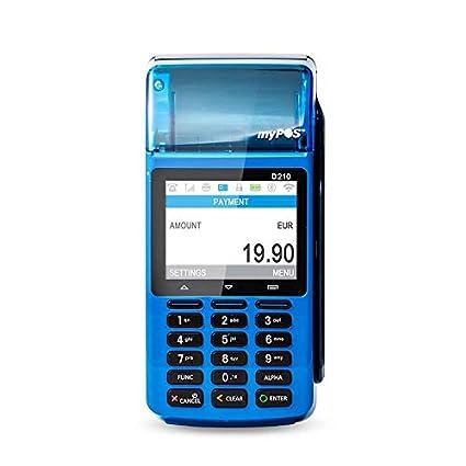 MyPOS Combo (Blue) terminal de POS portátil con impresora ...