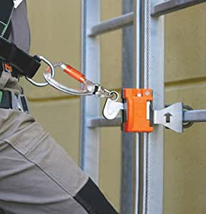 Miller 60' Vi-Go Continuous Ladder Climbing Safety System Kit