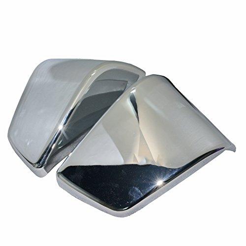 Motorcycle Chrome Battery Side Fairing Cover For Honda Shadow ACE750 VT400 1997-2003 VT 750 1998 1999 2000 2001 2002