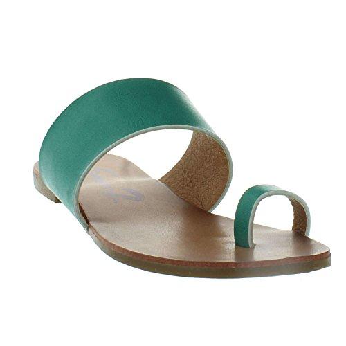 Seven7 Lucy Slide Sandale Blaugrün