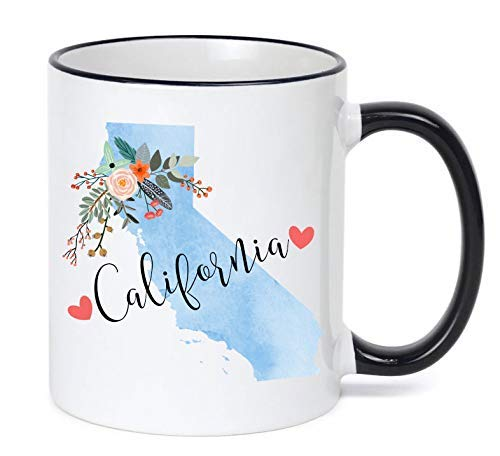 California Mug California Gift (Mug California)