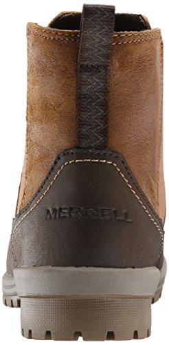 Merrell EMERY ANKLE - Botas antideslizantes sin forro para mujer Marrón (rust)
