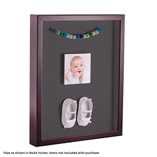 ArtToFrames 24 x 36 Inch Shadow Box Picture Frame, with a Ch