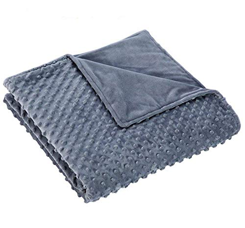 - RoamFish Weighted Blanket Duvet Cover, Removable Breathable Minky Covers for Cotton Inner Layer 60