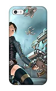 Jim Shaw Graff's Shop New Style 3820026K910686439 assault rifle machine guns sabre anime anime Anime Pop Culture Hard Plastic iPhone 5/5s cases
