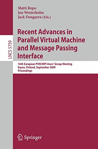 recent-advances-in-parallel-virtual-machine-and-message-passing-interface-16th-european-pvm-mpi-user