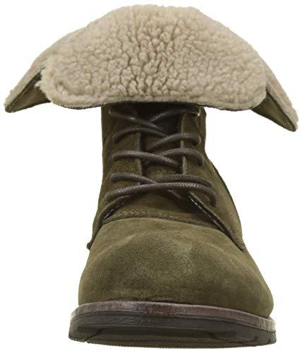 Vert Green 909 W Suede Women's Boot Sebago Ankle xwZ1zTYq1n