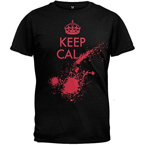 Keep Calm Blood Splatter T-Shirt