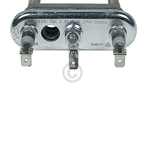 Calentador 2000 W 230 V para SIEMENS Bosch Lavadora ...