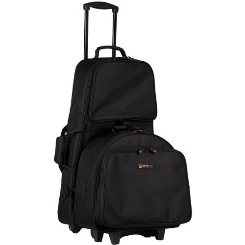 Bell Percussion Kit Carry Case (Pro Tec CP117WL Percussion Kit and Snare Combination Bag with Wheels)