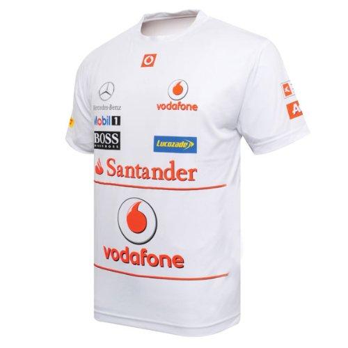 Vodafone Mclaren Mercedes Team Sponsor Jersey  Xxl