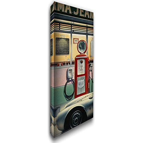 - Destiny Highway 18x40 Gallery Wrapped Stretched Canvas Art by Consani, Chris