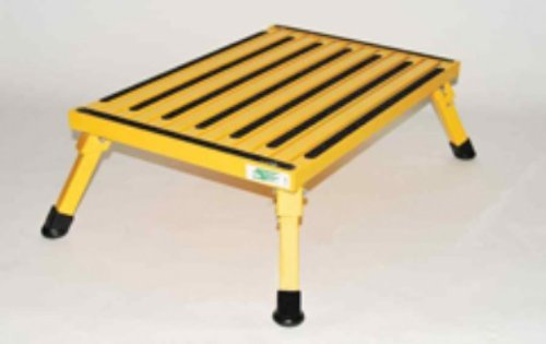 - Safety Step XL-08C-Y Yellow X-Large Folding Recreational Step Stool
